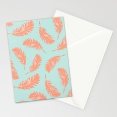 Summer feathers Stationery Cards