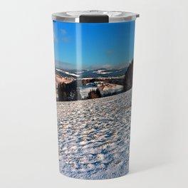 Hiking through winter wonderland II | landscape photography Travel Mug
