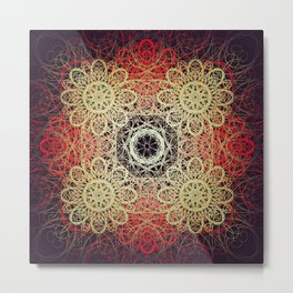 Symmetry 9: Summer Night Metal Print