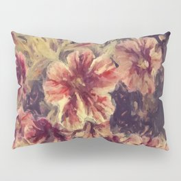 The Painted Flower Pillow Sham