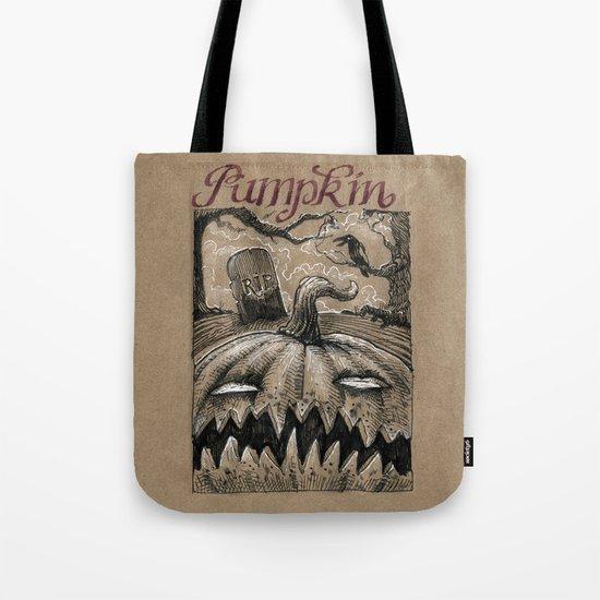 Pumpkin (Drawlloween 1/31) Tote Bag