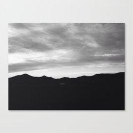 Oklahoma mountains at night Canvas Print
