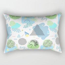 Retro Summer Rectangular Pillow