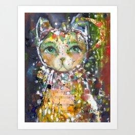 Guardian Of Stillness Art Print
