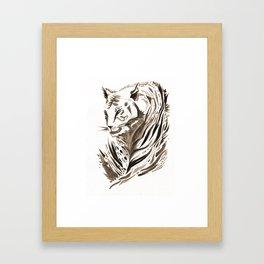 Tiger, Tiger Framed Art Print