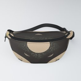 Ouija Wheel of the Moon - Beyond the Veil Fanny Pack