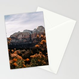Zion Canyon through the Flora Stationery Cards