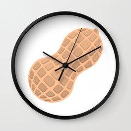 Peanut Emoji Wall Clock
