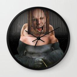 Kafka's Ape Wall Clock