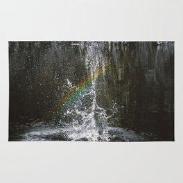 Rainbow Spout Rug