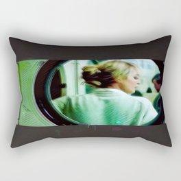 Laundromat Rectangular Pillow