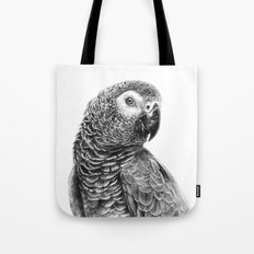 Gray Parot G083 Tote Bag