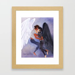 I will find you in every reality Framed Art Print