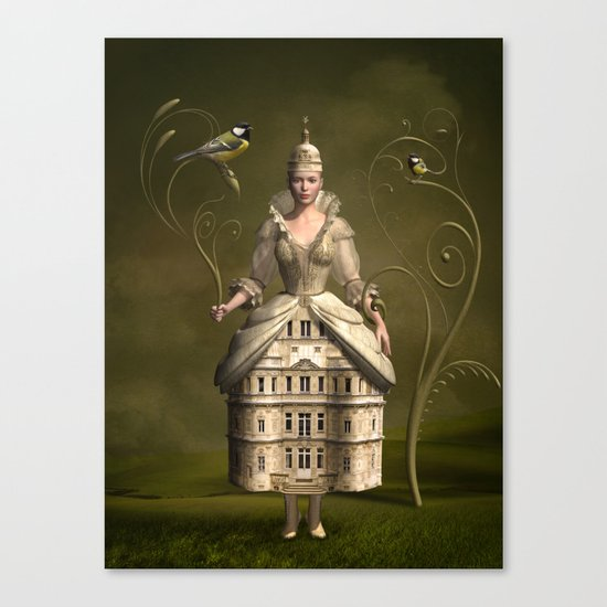 Kingdom of her own Canvas Print