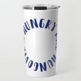 Hungry and Hungover Travel Mug