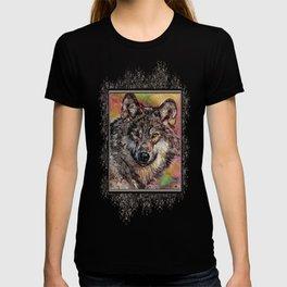 Portrait of a Gray Wolf T-shirt