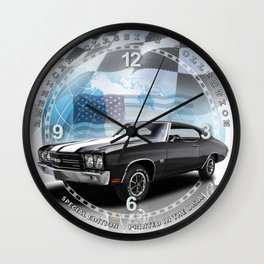"1970 Chevrolet Chevelle SS Decorative 10"" Wall Clock (003ac Wall Clock"