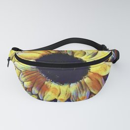 Sunflower After The Storm Fanny Pack