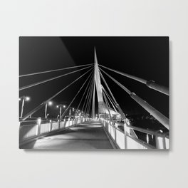 The Provencher Bridge Metal Print