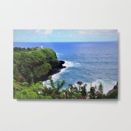 Kilauea Point Lighthouse Metal Print