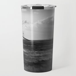 Severn Crossing Lensbaby 01 - Severn Beach Travel Mug