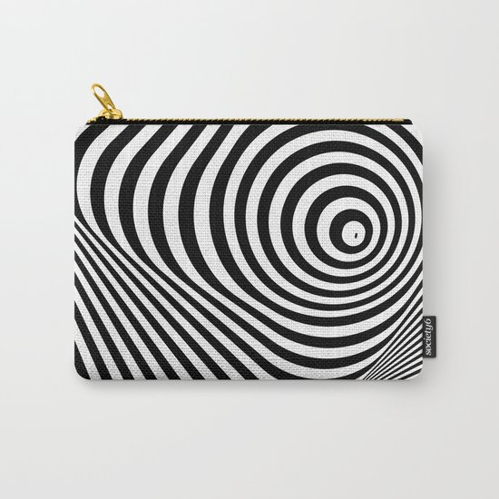 abstract striped background Carry-All Pouch