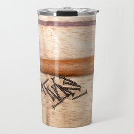 Hammer and Black Screws Travel Mug