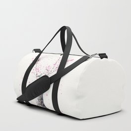 Cherry Blossoms And Birds Duffle Bag
