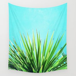 Solar Yucca Palm Wall Tapestry