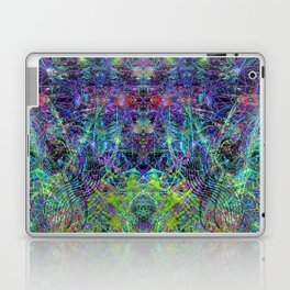 Con-Tici Cosmogenesis (abstract, psychedelic, visionary) Laptop & iPad Skin