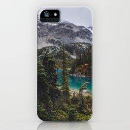 Joffre Lakes iPhone Case