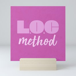 LOC Method [Pink] Mini Art Print