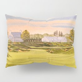 Whistling Straits Golf Course 9th And 18th Pillow Sham