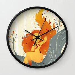 Fall Sprite Wall Clock