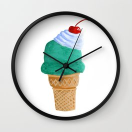Ice Cream Cone Wall Clock