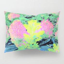 Fluorescent Golden Smoke Tree Garden Pillow Sham