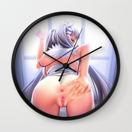 Hentai Round Ass Wall Clock