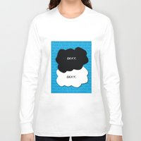 the fault Long Sleeve T-shirts featuring the fault in our stars by lizbee