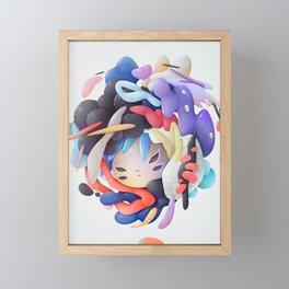 Bubblegum Framed Mini Art Print