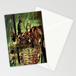 Rusalka: Москва (Fall Morning) Stationery Cards
