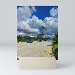 Singapore Road Mini Art Print