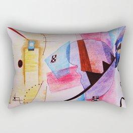 inspiration from Kandinsky . artwork Rectangular Pillow