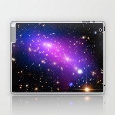 Colliding Galaxies Laptop & iPad Skin