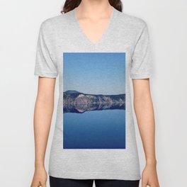 Crater Lake 2 Unisex V-Neck