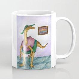 Dressy Dinosaur - Shirley Coffee Mug