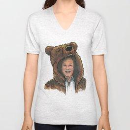 Bear Suit Marc Unisex V-Neck