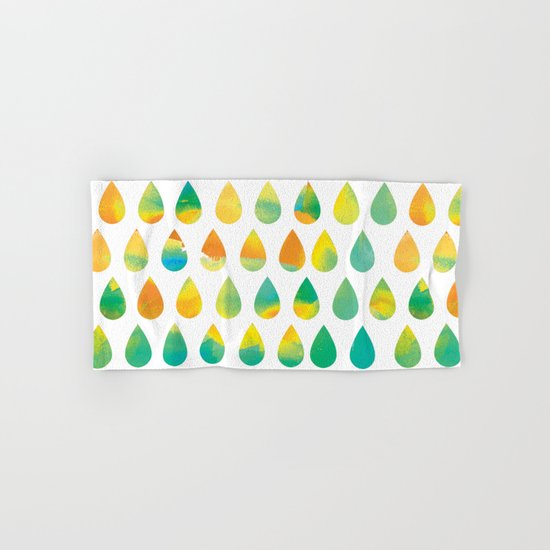 Monsoon Rain Hand & Bath Towel