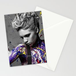 Splatter Stationery Cards