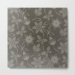 MAUA flora Metal Print