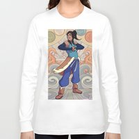 korra Long Sleeve T-shirts featuring The Avatar Korra by garciarts